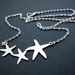 sale - starfish necklace