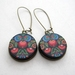 Polish folk art earrings