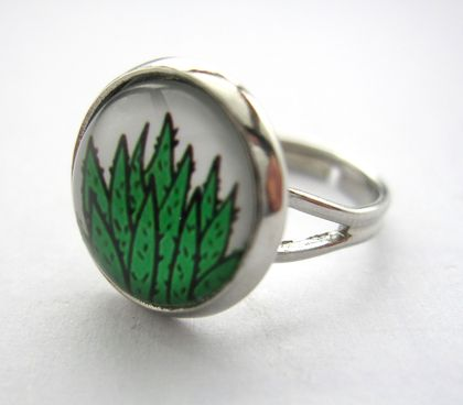 sale - Succulent ring