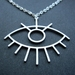 Ancient eye necklace