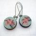 sale - Plum blossom earrings