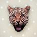 sale - Leopard brooch