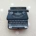 Torpedo typewriter brooch
