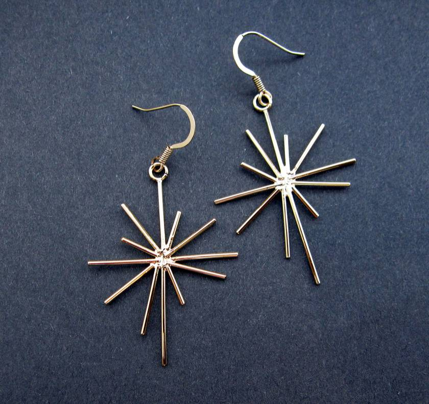 starburst earrings