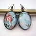 Retro tropics earrings