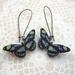 Little blue butterfly earrings