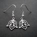 sale - little tulip shaped flower earrings