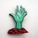sale - Horror hand brooch