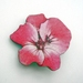 sale - Tropical flower brooch