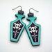 Poison earrings
