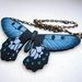 Big and beautiful butterfly necklace