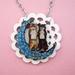 kitsch kitties sing a duet necklace