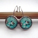 bird and blossoms earrings