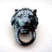 sale - Knock knock - Vintage Lion door knocker brooch