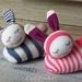 Sleeping Baby Bunny, baby toys