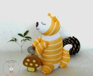 Sleeping buddy Woodland Squirrel, soft toys