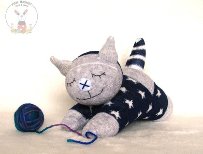 Sleeping buddy Kitten, baby toys