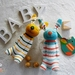 Sleeping buddy Rainbow Bunny, baby toys