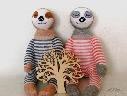Sleeping buddy Sloth, soft toys