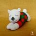 Sleeping buddy Jolly Polar Bear, kids/baby toys