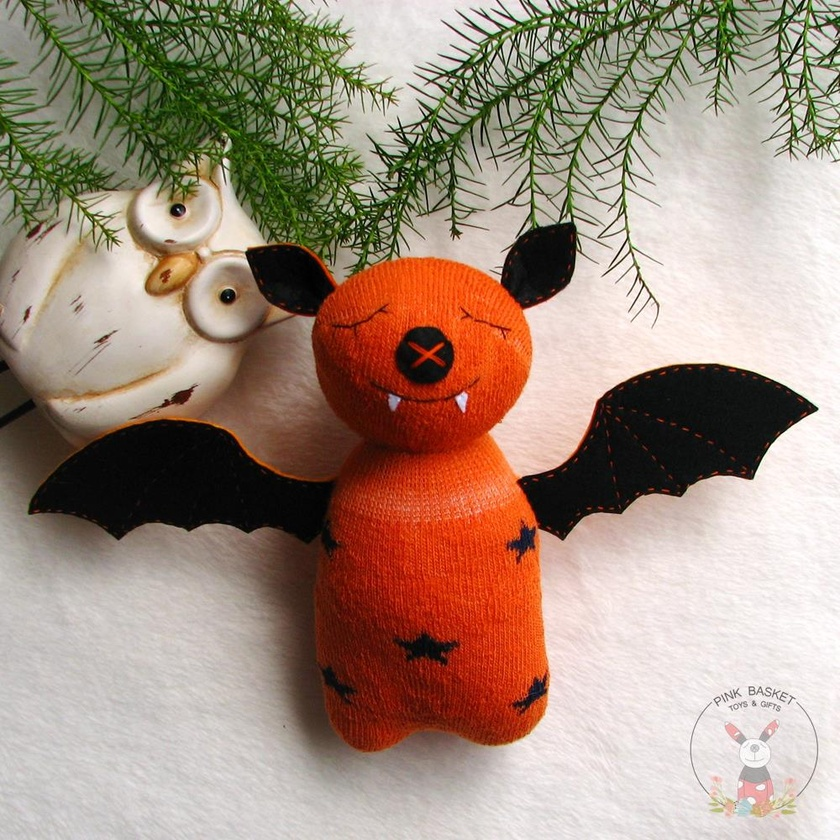 Sleeping buddy Bat, soft toys