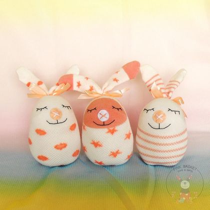 Bunny Easter Egg soft toy