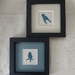 Starlings I & II (Counted Cross-stitch)