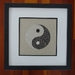 Yin Yang (Contemporary Whitework with surface embroidery)