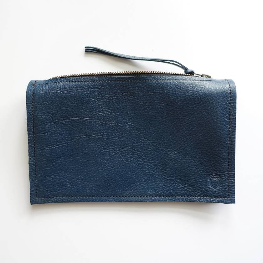 Up-cycled Leather Cable Bag