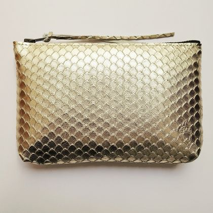 Textured Leather Purse