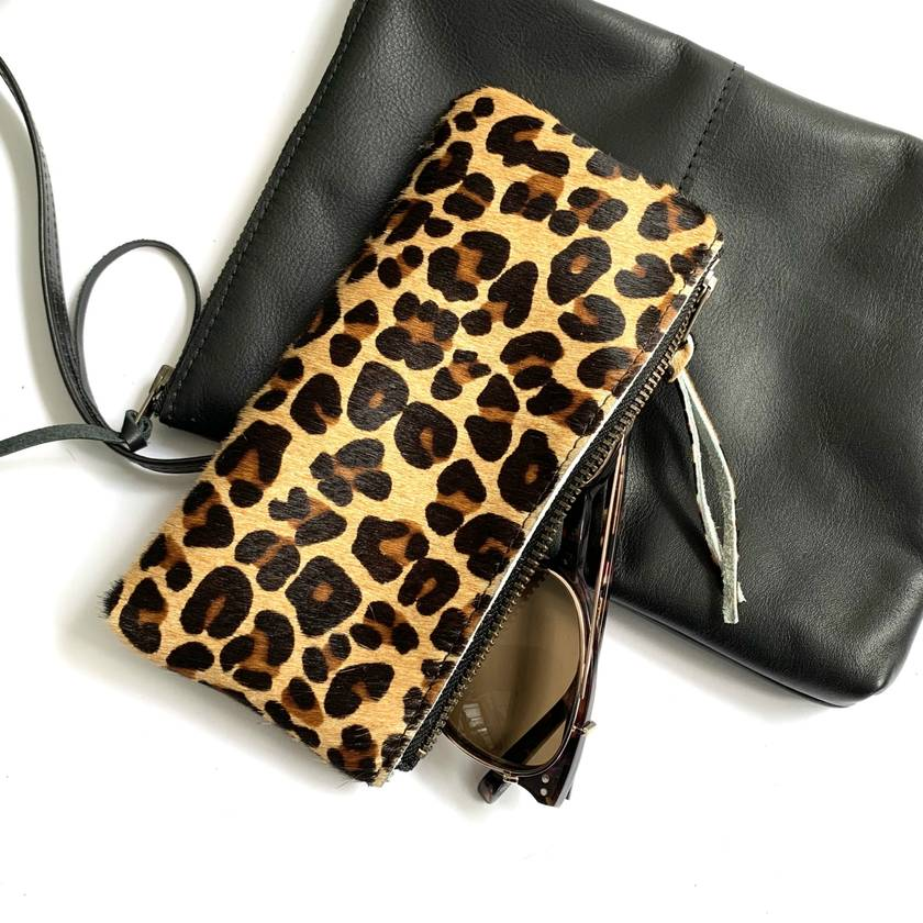 Leather Sunglasses Case (or great for lipsticks)