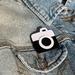 Leather Camera Badge