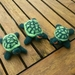 Needle felted turtles