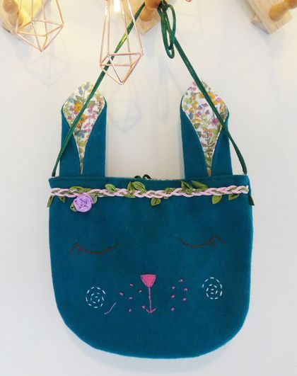 Child's Bunny Bag