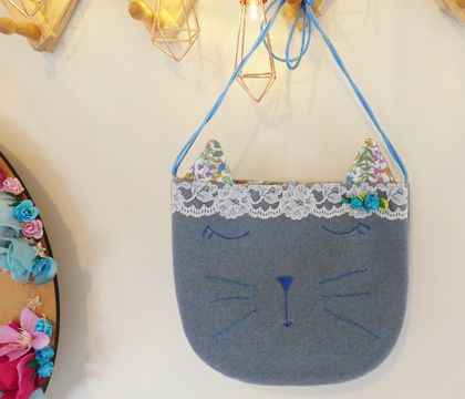 Child's Kitty Bag