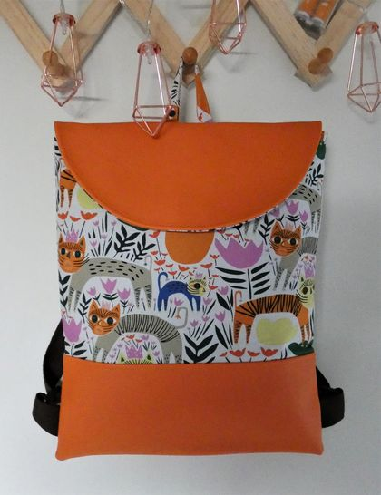 Child's Safari Theme Backpack