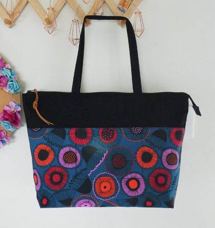 Large Zip-Top Tote
