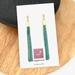 Mint Chain Tassel Earrings