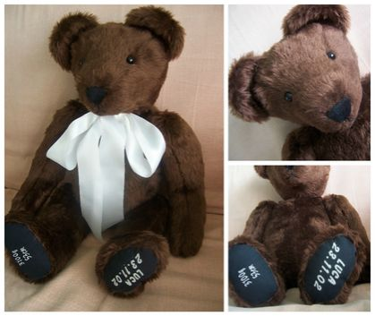 OOAK Teddy Bear ***personalised***