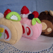 Felt food *Roll Cakes*  no.08 ---PDF pattern---