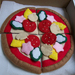 Felt food *Pizza*  no.04 ---PDF Patterns---