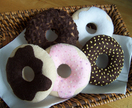 Felt food *Donuts* no.12  ---PDF Pattern---