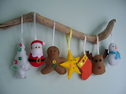# NEW # Felt toy *Christmas ornaments* no.15 ---PDF Pattern---