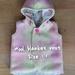 NZ Vintage Wool Blanket Vest (size:1)