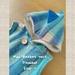NZ Vintage Wool Blanket Vest  (size:2) '' Dinosaur ''