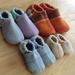 NZ Vintage Wool Blanket Slippers ***kids***