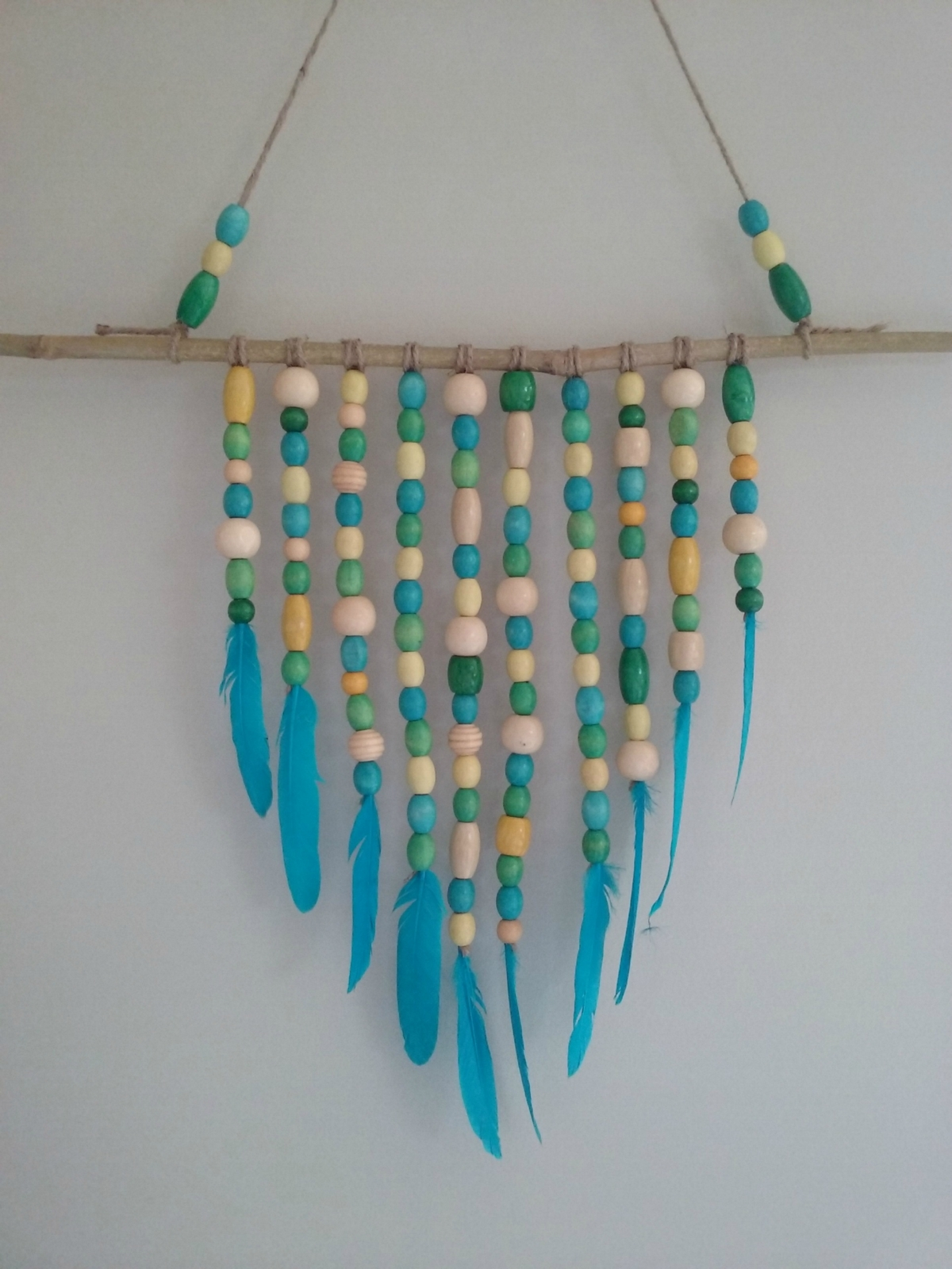 Beaded wall hanging felt for Wall hanging