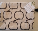 'Ink Apples' extra-large zip purse/Nappy wallet