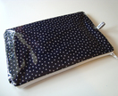 'Navy Star' children's waterproof toilet bag or pencil case