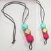 Vertical drop bead necklace...